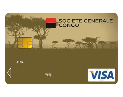 Connu Visa PREMIER - Société Générale Congo GJ63